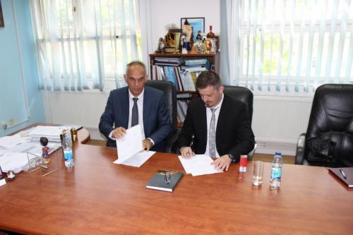 Potpisivanje ugovora Saobraćajni fakuletet - Agram d.d.